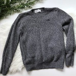 ABERCROMBIE & FITCH | Gray Knitted Sweater